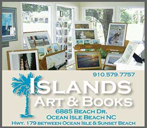 Islands Art and Books Store Sunset Beach NC
