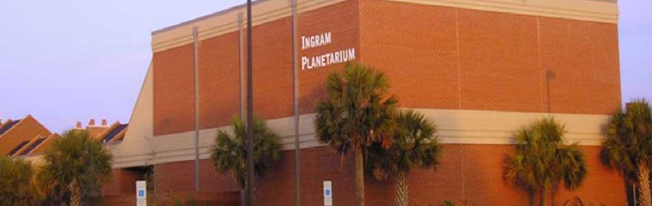 Ingram-Planetarium at Sunset Beach NC