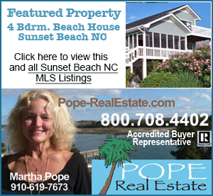 Sunset Beach Houe for sale Pope Real Estate