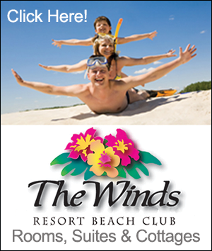 The Winds Resort Beach Club Rooms Suites & Cottage rentals