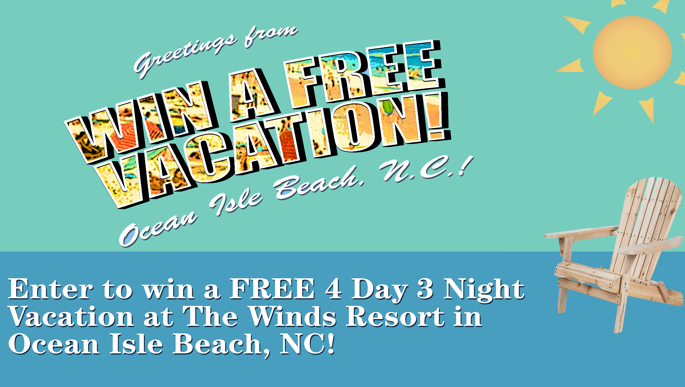 Enter To Win A Free Vacation Sunsetnc Com