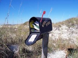 The Kindred Spirit Mailbox Sunset Beach NC Sunset Beach Activities
