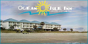 The Ocean Isle Inn on Ocean Isle Beach, North Carolina
