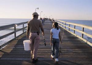 Sunset Beach Fishing Pier