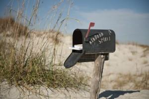Sunset Beach Kindred Spirit Mailbox on CBS Evening News