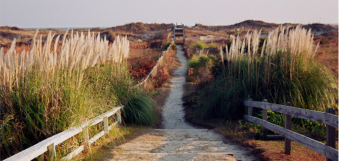 Sunset-Beach NC Walkway-
