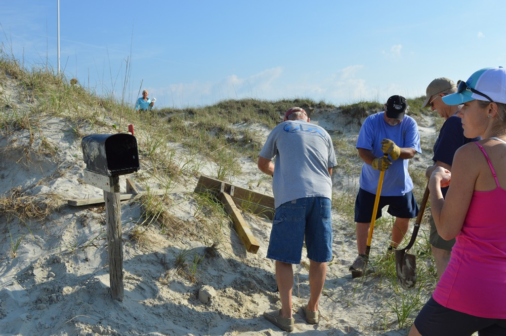 The Kindred Spirit Mailbox Repaired after Tropical Storm Ana