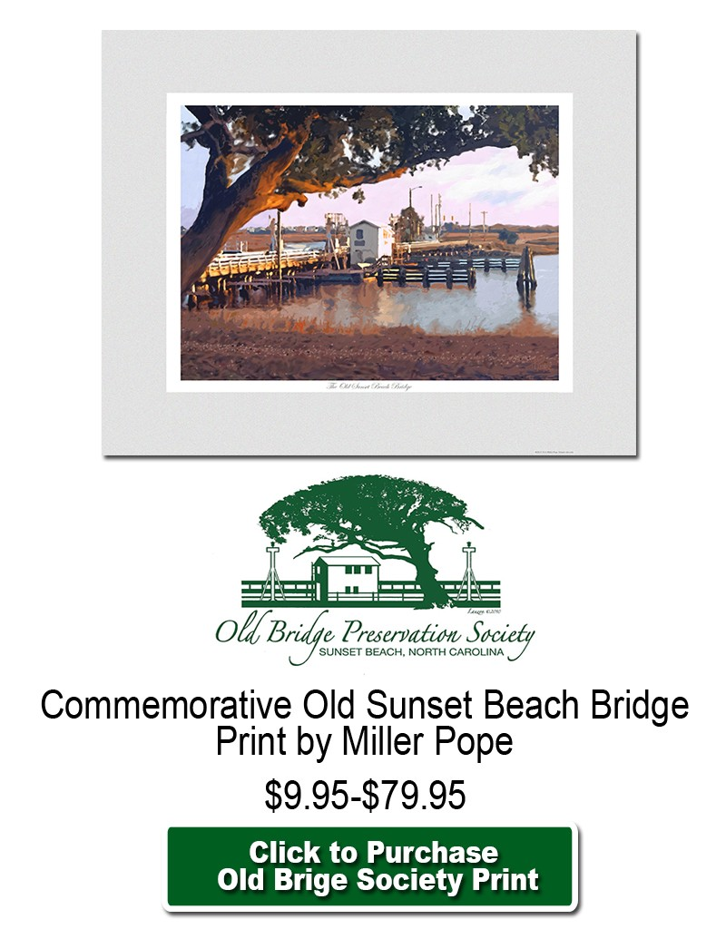Old Bridge Preservation Society Chairty Print