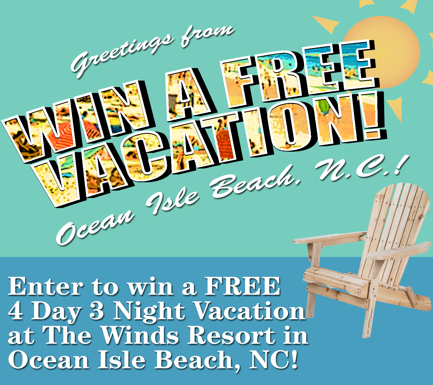 Enter to win a free vacation sunsetnc nvjuhfo Choice Image