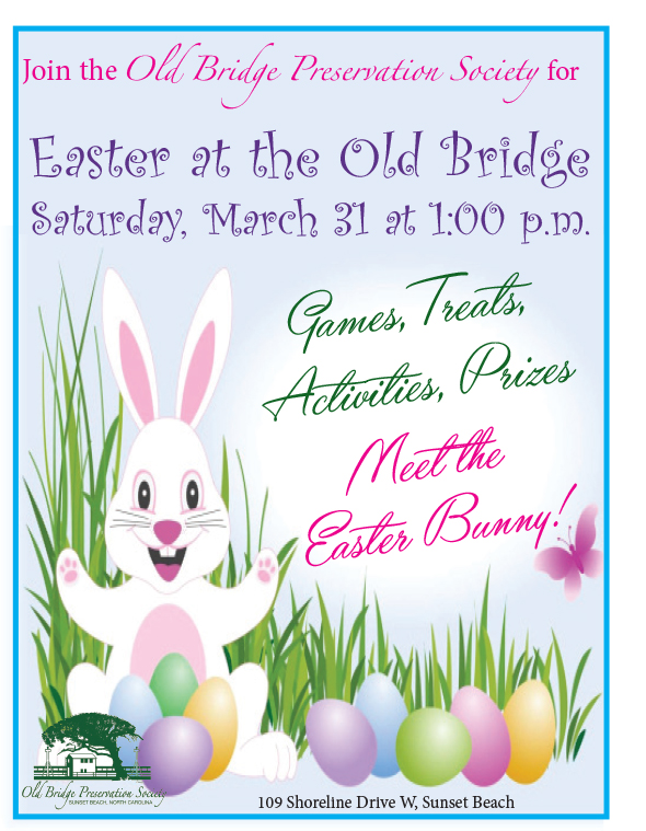 Easter at the old bridge for Call the easter bunny phone number