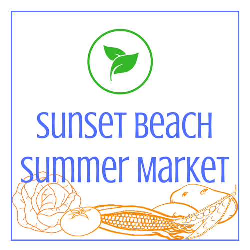 Sunset Beach Summer Market Logo