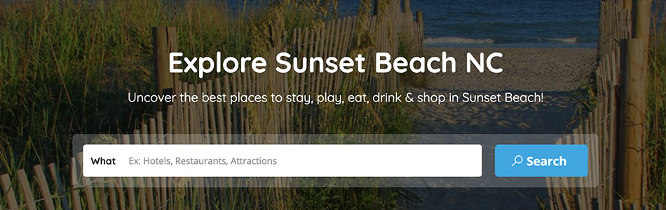 Explore Sunset Beach NC