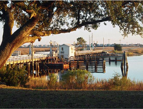 Old Sunset Beach Bridge